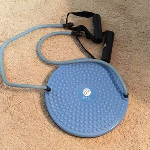 Other - Bally Fitness Twist Board w/ Resistance Tubing